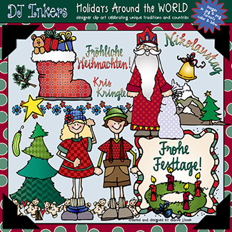 Holidays Around The World: Germany Clip Art Download