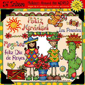 Holidays Around The World: Mexico Clip Art Download