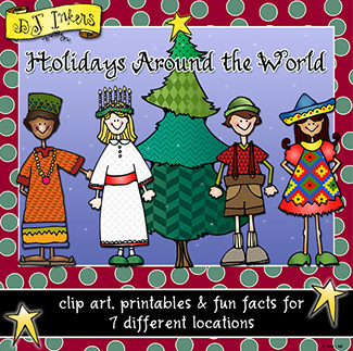 Holidays Around The World Clip Art Download Collection