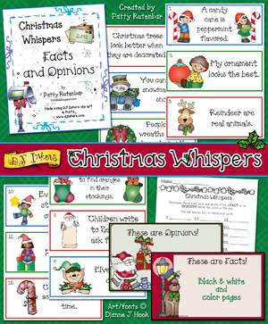 Christmas Whispers Activity Download
