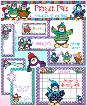 Penguin Pals Classroom Kit Download