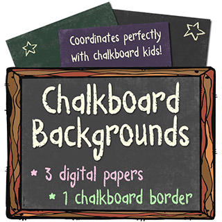 Chalkboard Backgrounds and Frame Download