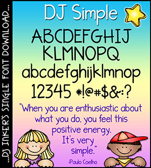 DJ Simple Font Download