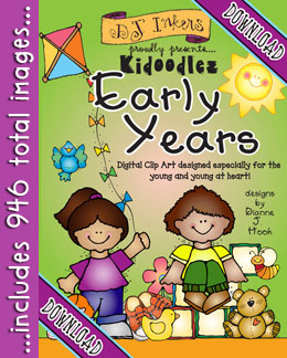Kidoodlez Early Years - Preschool and Kindergarten Clip Art Download