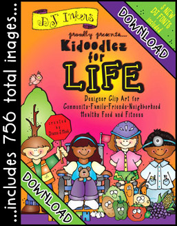 Kidoodlez For Life Clip Art Download