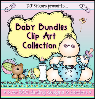 Baby Bundles Clip Art Download Collection