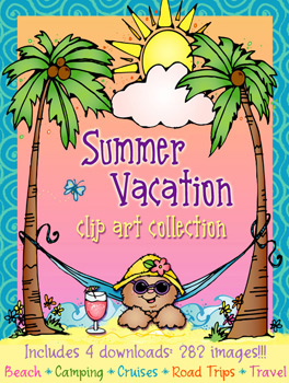 Summer Vacation Clip Art Download Collection