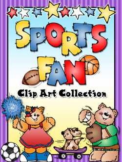 Sports Fan Clip Art Download Collection