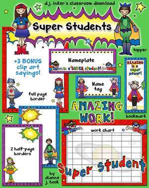Super Students Classroom Kit Download