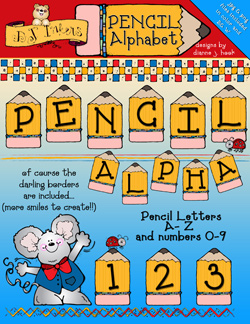 Pencil Clip Art Alphabet Download