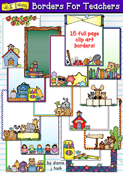 Borders For Teachers Clip Art Download