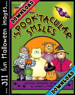 Spook-tacular Smiles Halloween Clip Art Download