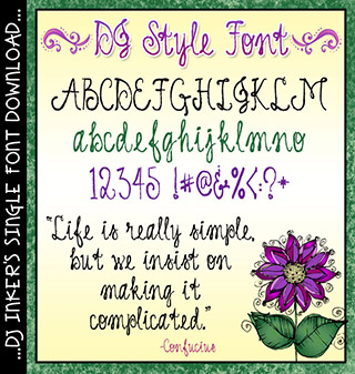 DJ Style Font Download
