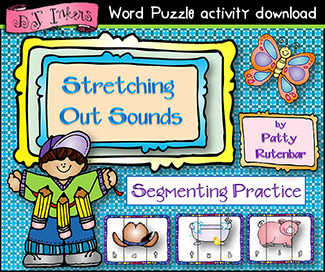 Stretching Out Sounds Word Puzzles Download