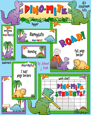 Dino-Mite Classroom Kit Download