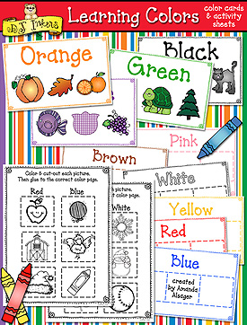 Learning Colors Activity Download