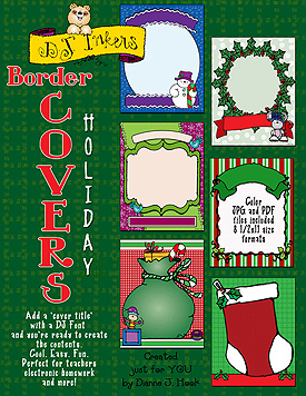 Border Covers Holiday Clip Art Download