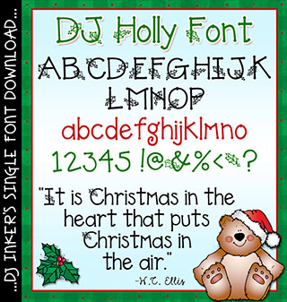 DJ Holly Font Download