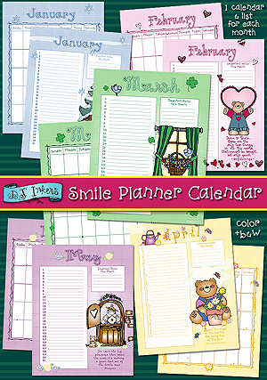 Smile Planner Calendar Download