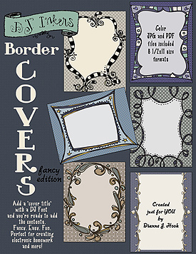 Border Covers Fancy Clip Art Download