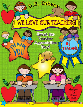 We Love Our Teachers Clip Art Download
