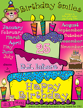 Birthday Smiles Clip Art Download