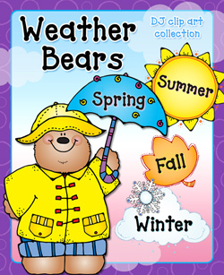 Weather Bears Clip Art Download Collection