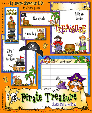 Pirate Treasure Classroom Kit Download