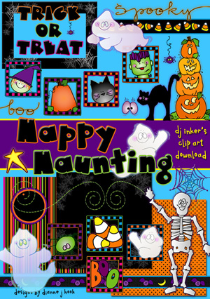 Happy Haunting Clip Art Download