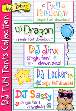 DJ Fun Fonts Collection Download