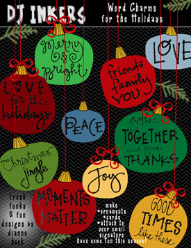 Festive Thoughts Clip Art Download
