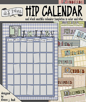 Hip Calendar Download