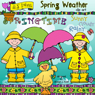 Spring Weather Clip Art Download