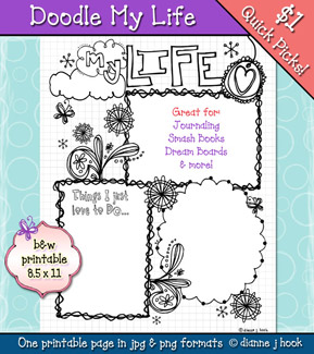 Doodle My Life Printable Download