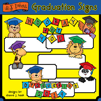 Graduation Signs Clip Art Download