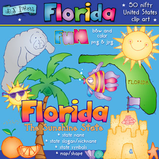 Florida USA Clip Art Download