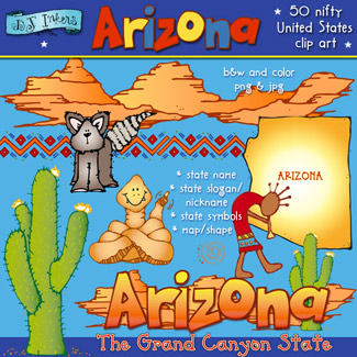 Arizona USA Clip Art Download