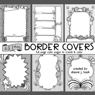 Just Doodles Border Covers Download