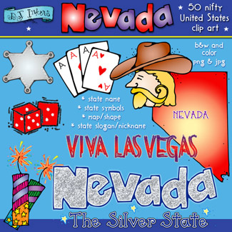 Nevada USA Clip Art Download