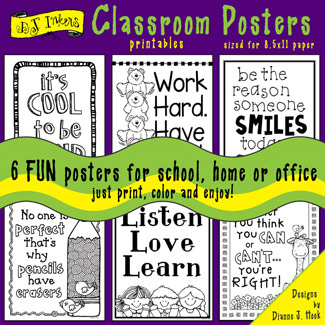Classroom Posters Printable Download