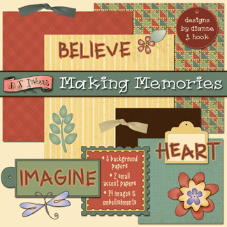 Making Memories Digital Scrapbooking FREEBIE