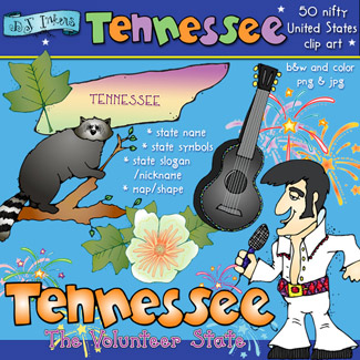 Tennessee USA Clip Art Download
