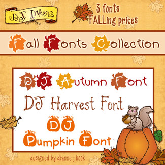 DJ Fall Fonts Collection Download