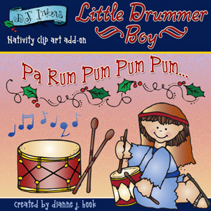 Little Drummer Boy Clip Art Download
