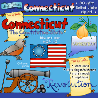 Connecticut USA Clip Art Download
