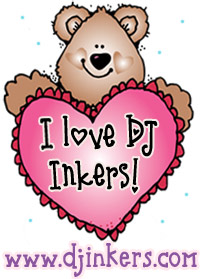 I Love DJ Inkers Button