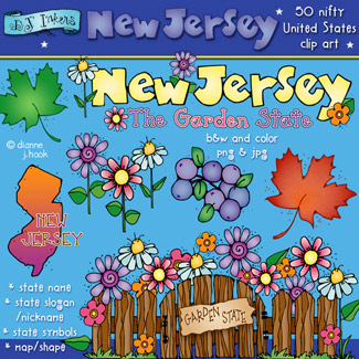 New Jersey USA Clip Art Download