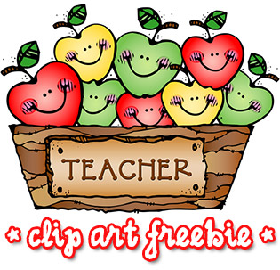 Teacher Apples Clip Art FREEBIE