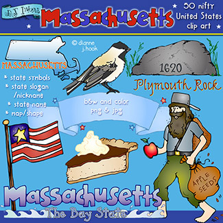 Massachusetts USA Clip Art Download