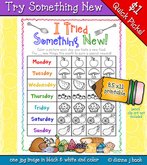Try Something New Printable Download
